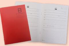 オリジナルノートのサンプル、映画鑑賞用ノートです。