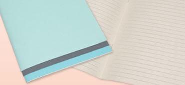 オリジナルノートの製作も行っております。